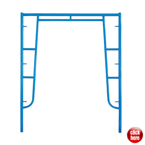 China Formwork Support Metal Frames/ Construction Shoring Pipe Frame ...
