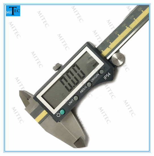 "150mm 6/"" LCD Digital Electronic Gauge Vernier Caliper Micrometer ABS Plastic"