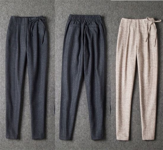 329c0bf5619 2015 Autumn Winter Unique Design Women Leisure Elastic Waist Trouser Pencil  Pants pictures   photos