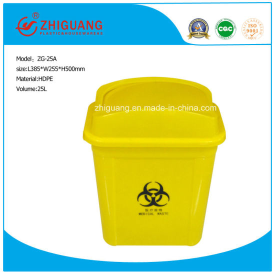 25L Plastic Injection Garbage/Trash Can/Waste Bin pictures & photos