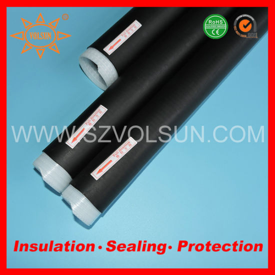 35*279mm RF Connector Sealing EPDM Cold Shrink Tubing pictures & photos