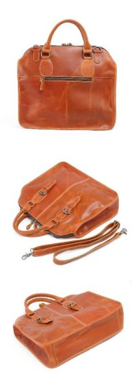 Cowhide Leather Man Fashion Handbag (RS-6013) pictures & photos