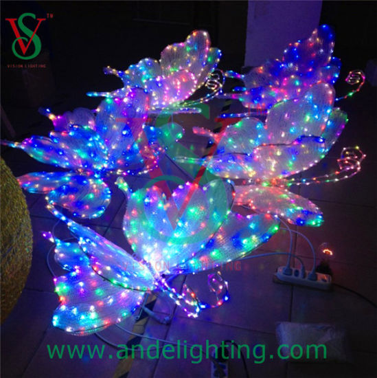 Holiday Decoration 3D Butterfly LED Motif Wedding Party Light pictures & photos