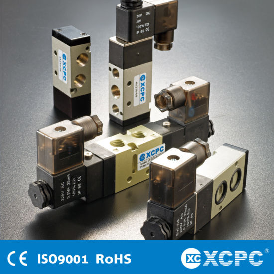 China Manufacturer Pneumatic Solenoid Valve