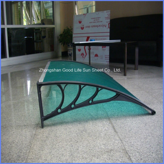 DIY Clear Door Canopy Plastic Window Polycarbonate Canopy Shelter Covers