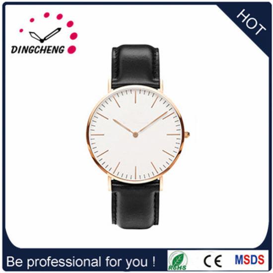 Leather Belt Classic Wrist Watch/Quartz Watch (DC-1487)