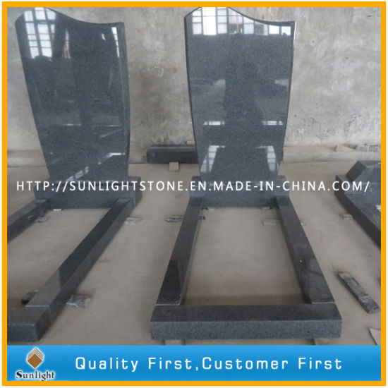 China Natural G654 Grey Granite Tomb/Gravestones pictures & photos
