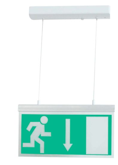 Top Quality Pendant Emergency Exit Light for Building Decoration