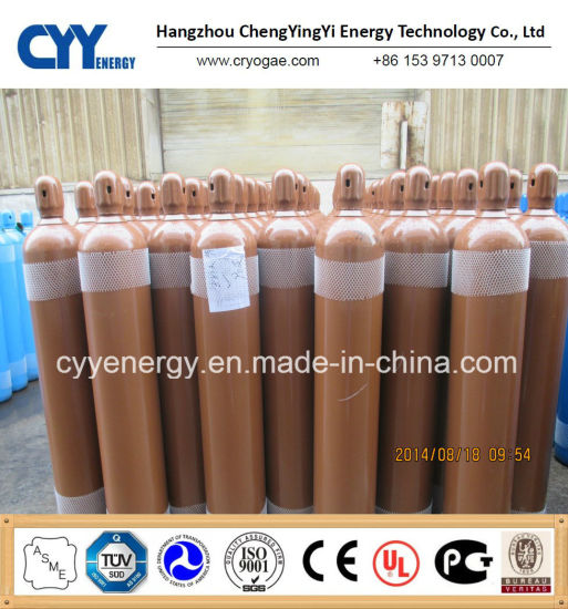 High Quality Liquid Nitrogen Oxygen CO2 Argon Seamless Steel Gas Cylinder
