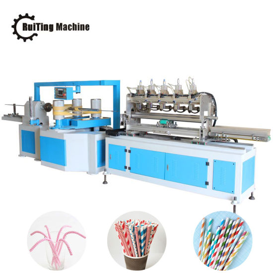 Forming Machine Paper Drinking Straw Making Machinery pictures & photos
