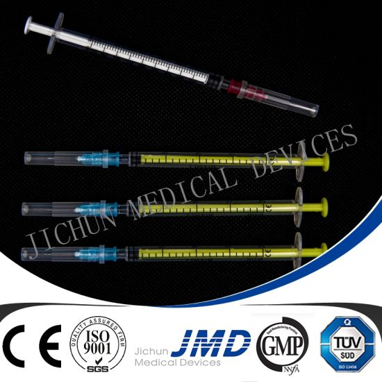 3 Part Disposable Safety Syringe pictures & photos