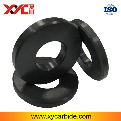 Precise Dimension Black Color Silicon Carbide Ceramic Ring parts