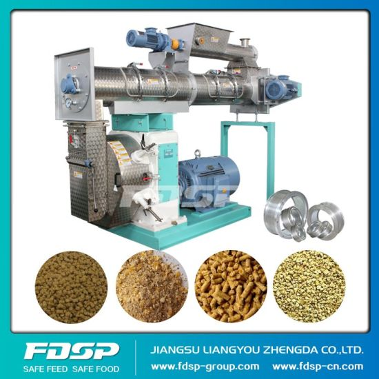Professional Design Animal Feed Pellet Machine (SZLH400) pictures & photos