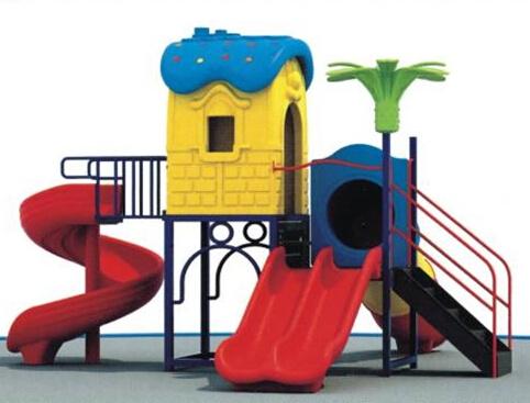 Children/Kids Outdoor Playground Plastic Exercise Playground Equipment for Sale Outdoor Plastic Outdoor Playground (A-126-2)