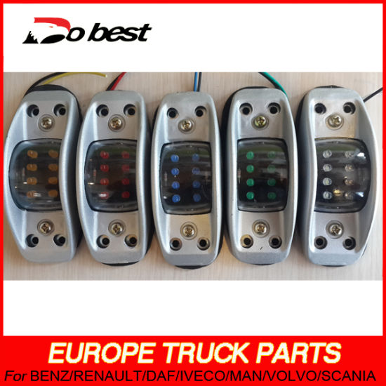 12V 24V LED Truck Trailer Tail Light with Grille pictures & photos