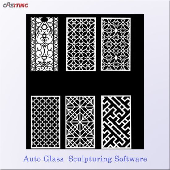 CNC Glass Sculpturing Software Made In China