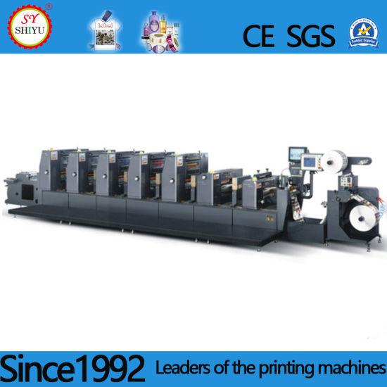 Automatic Colors Self-Adhesive Label Printing Machine
