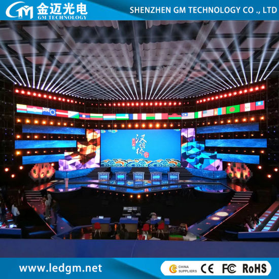 Indoor High Refresh Stage Rental Events LED Display Screen P2.6/P2.97/P3.91/P4.81 (500*500mm/500*1000mm Quick Installation Rental Pantalla)