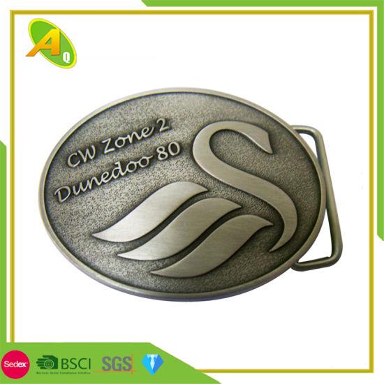 Double Prong Customised Belt Buckle for Bag Apple Belt Buckle (070)