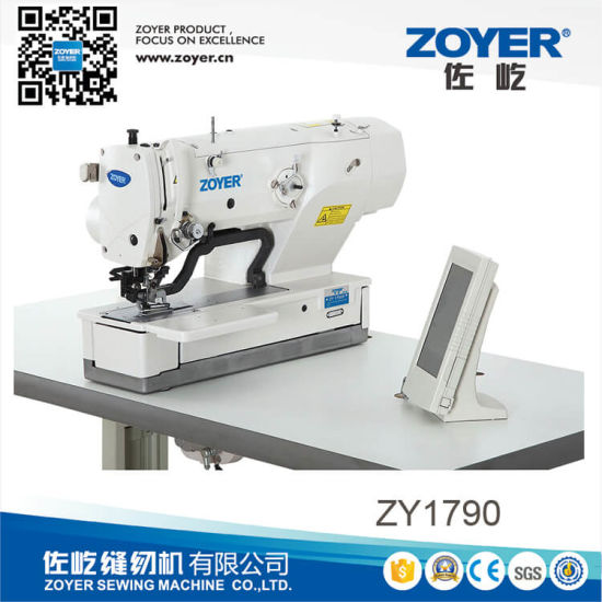 Zy1790 High Speed Straight Button Holing Sewing Machine