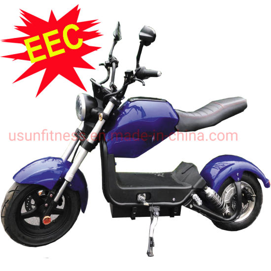 EEC Electric Scooter with Double Seat New Model Design for Adult