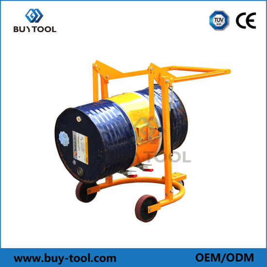 300kg Capacity Mobile Drum Carrier Mechanical Operated Mobile Drum Karrier