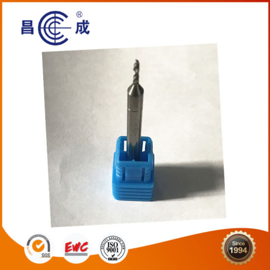 Small Size Solid Carbide Twist Drill Bit with 2 Flutes for Cutting Metal pictures & photos