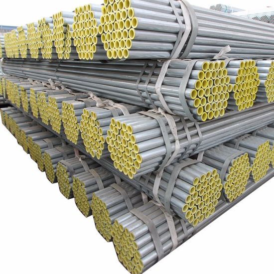 Factory Supplies Q235 Galvanized Steel Tube for Structure
