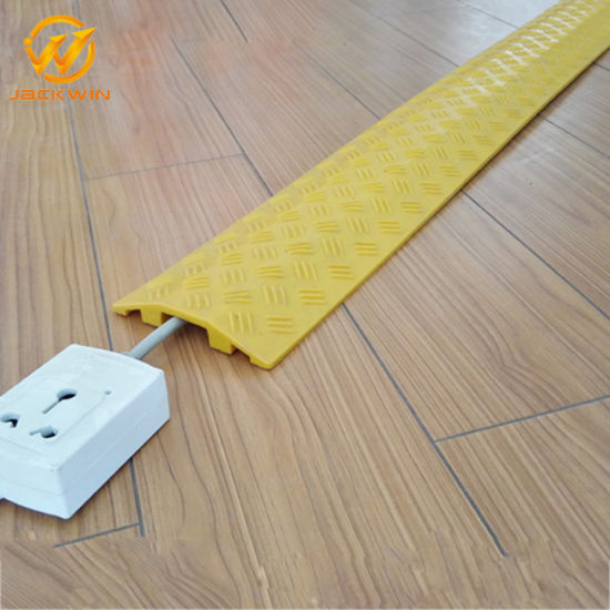 Cable Ramp Floor Protector 1 Channel Cable Ramp Rubber Cable Protector Ramp