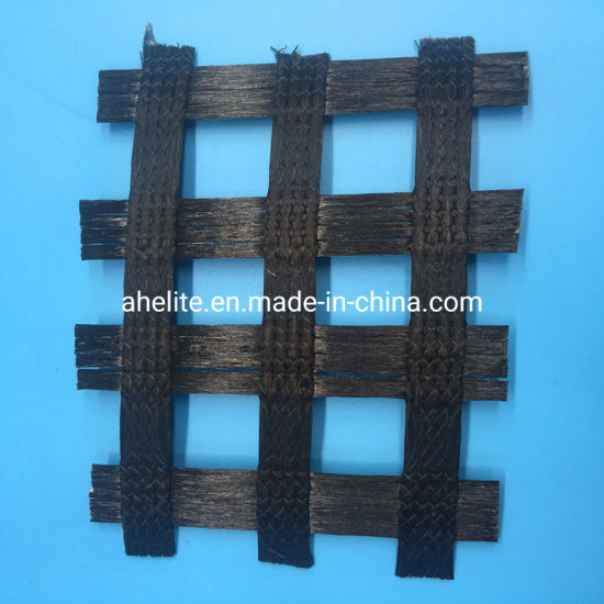 High Quality Polyester Geogrid / Pet Geogrid for Bank Slopes Reinforcement