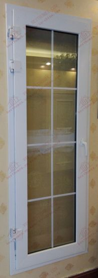 High Quality UPVC Single Flush Door (BHP-CD08) pictures & photos