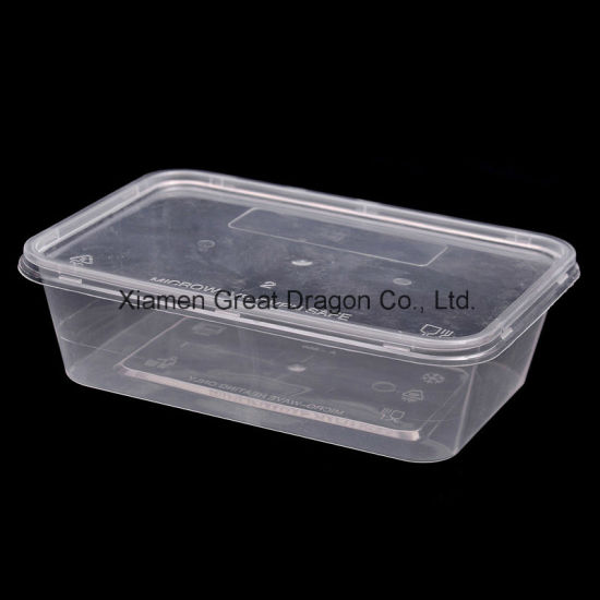 Food Storage Container Lunch Tray Microwave and Dishwasher Safe (LB12009) pictures & photos
