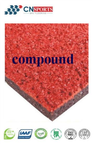 Compound/Sandwich Type PU Running Track, Not Prefabricated