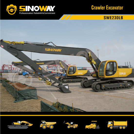 Sinoway Long Reach Boom Hydraulic Excavator pictures & photos