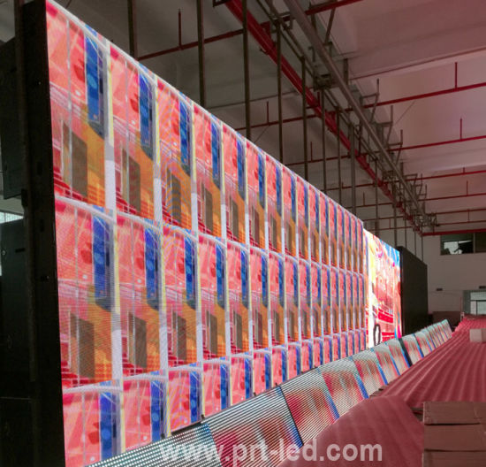 P4 Indoor Full Color LED Video Wall with Front Access by Magnets pictures & photos