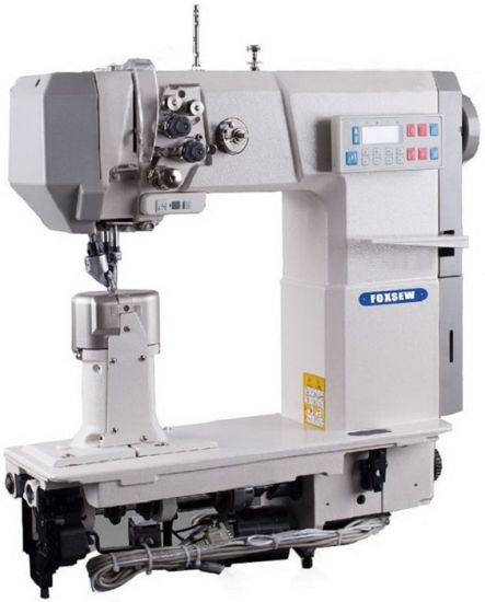 Automatic Heavy Duty Post Bed Sewing Machine