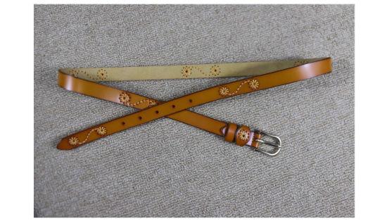 Men/'s Black//Brown Genuine Leather Strap Belts Metal Pin Buckle Wasitbelt 120CM