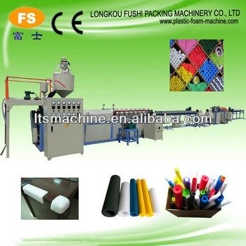Fushi Factory Direct Sale PE Foam Tube/Tod Extrusion Line