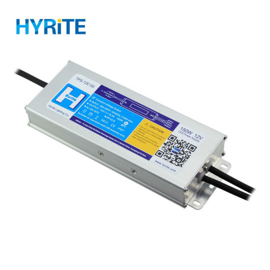12V 150W Waterproof IP67 AC DC LED Power Supply with TUV Certification