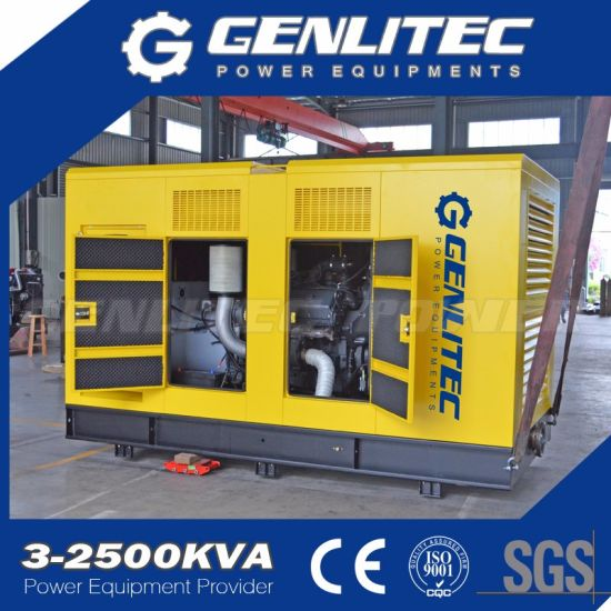 Factory Directly 350kw Silent Diesel Generator with Mtu Engine pictures & photos