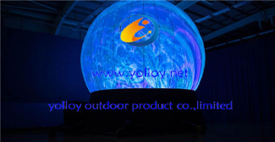Portable Inflatable Projection Dome Tent pictures & photos