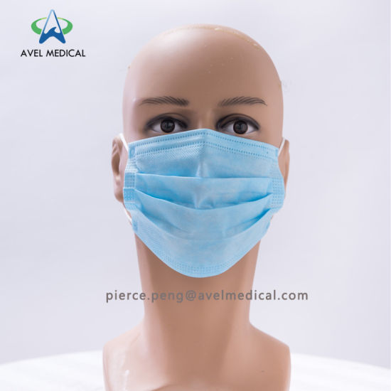 Woven Non Face Mask Disposable Pp Medical Dust