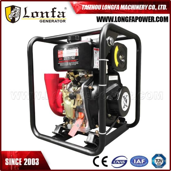 2 Inch High Pressure Casting Iron Diesel Water Pump pictures & photos