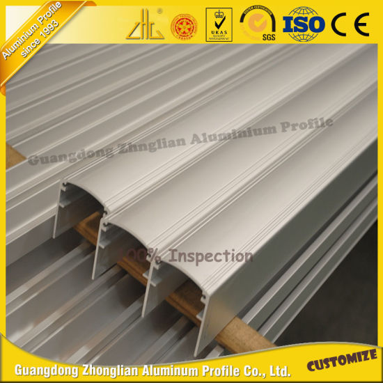 Zhonglian Anodized U Channel Aluminum Profile Aluminum Extrusion Profile