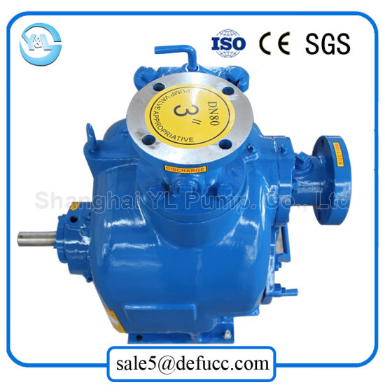 3 Inch Self Priming Electric Motor Drain Water Pump pictures & photos