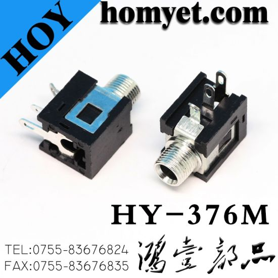 3 5mm audio female connector solder type phone jack with screw pictures &  photos