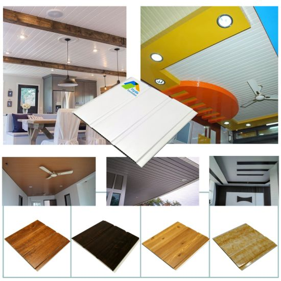 Pop Design Color Wave Wall Panel Decorative Board Tiles/Tablilla Techos Cielo Raso PVC and Plastic Roof False PVC Ceiling