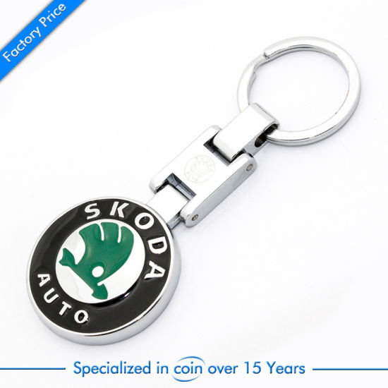 Die Casting Printed Metal Key Chain pictures & photos