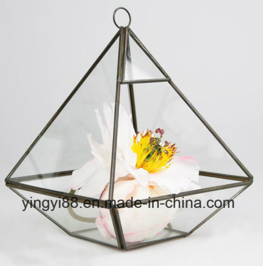 China Wholesale Glass Geometric Terrarium For Hanging China