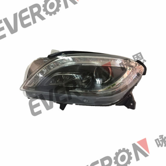 HID Xenon Head Lamp with LED DRL for Mercedes Ml Deluxe W166 2012-2016